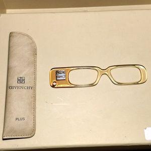 NEW- Givenchy Plus Lorgnette Reading Eyeglasses